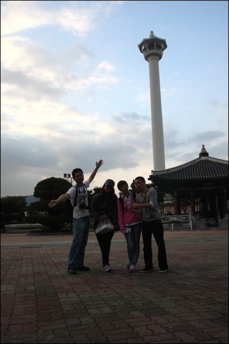 【龍頭山公園】釜山塔親子遊|跟韓國小孩玩耍散步去|南浦洞大街 @GINA環球旅行生活|不會韓文也可以去韓國 🇹🇼