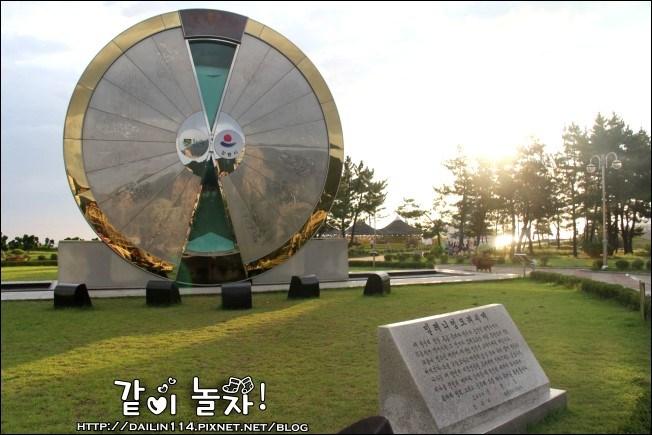 【江原道景點】江陵正東津|世界最大沙漏公園(모래시계공원/Hourglass Park) @GINA LIN