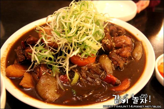 【首爾美食】烈鳳燉雞(열봉찜닭)|江南店1號店|SEVEN開餐廳 @GINA環球旅行生活