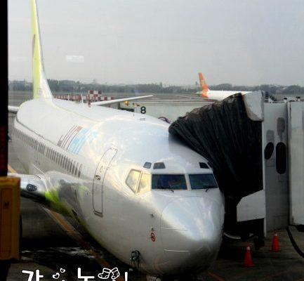 (已停飛 ) 濟州島自由行》跟我一起搭乘真航空玩濟洲吧! 진에어와 함께 제주도 놀러가요! @Gina Lin