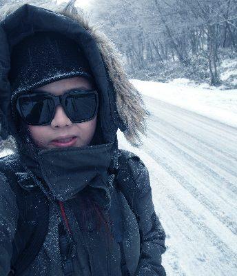 冬季真玩家 雪奔濟州島 GINA專訪 @Gina Lin