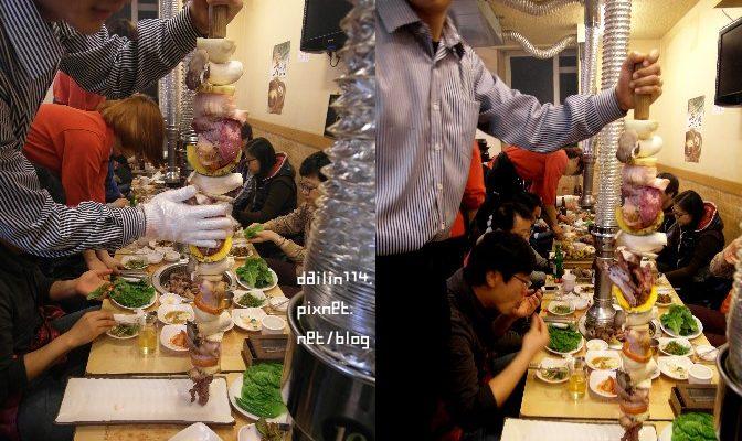 濟州島美食記》特大串烤黑豬肉 (해오름식당 왕꼬치구이) @Gina Lin