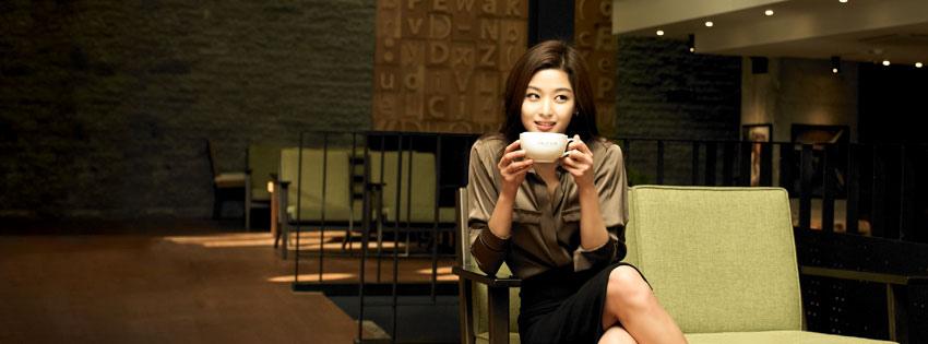 韓國首爾咖啡廳》Cafe'DROPTOP明洞店 全智賢代言、多部韓劇的取景地點 카페드롭탑 명동점 @Gina Lin