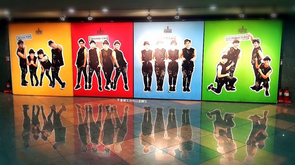 【韓國首爾表演秀】HERO塗鴉秀 結合簡單舞蹈 繪畫震撼 액션드로잉 히어로(서울) @GINA環球旅行生活