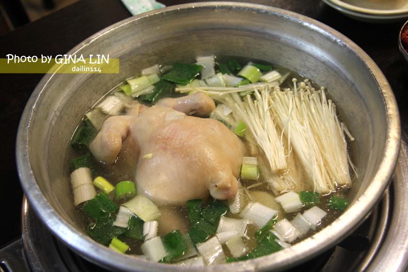 【東大門美食】陳元祖一隻雞|雞跟湯頭有入味,秋冬就是要喝這味!진원조보신닭한마리 @GINA環球旅行生活