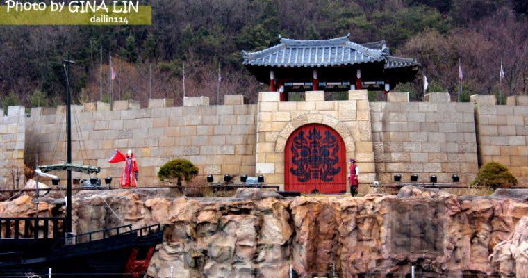 韓國慶州自由行》新羅千年公園(신라밀레니엄파크)韓劇善德女王、花樣男子..等以及韓國綜藝節目2天1夜外景場地 @Gina Lin