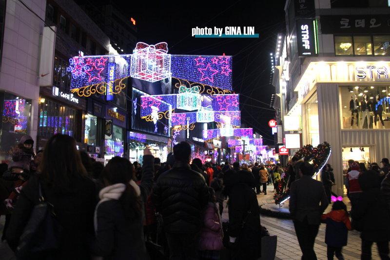 【2020釜山聖誕樹文化節】南浦洞光復路|釜山塔、龍頭山公園|夜景景點|聖誕節遊|情人鎖 @GINA環球旅行生活|不會韓文也可以去韓國 🇹🇼