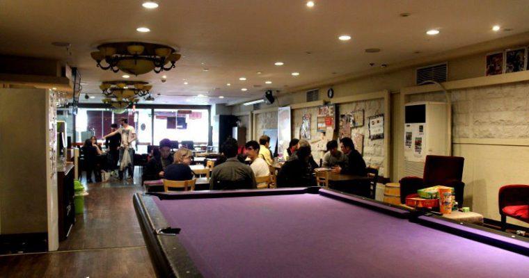 釜山住宿》超便宜背包客住宿LZone Hostel+釜山語言交換咖啡廳Lzone Language Cafe(慶星大 釜慶大站商圈內) @Gina Lin