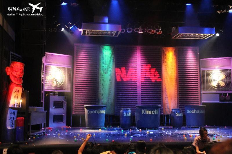 韓國首爾表演秀》NANTA 亂打秀 난타 推薦終於看到敲敲打打充滿活力 @GINA旅行生活開箱