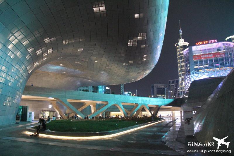 【東大門DDP設計廣場】Dongdaemun Design Plaza+來自星星的你韓劇場景拍攝現場特展 @GINA環球旅行生活