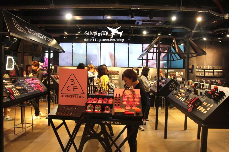 【弘大購物】STYLENANDA 3CE 韓國美妝、化妝品實體店面、女裝網路品牌 @GINA環球旅行生活|不會韓文也可以去韓國