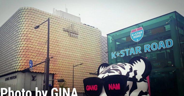 江南韓流 K-Star Road / K-Star路 SM、FNC、JYP藝人+ 眾星到場開幕 + Galleria百貨名品館美食地下街 케이스타로드 @Gina Lin