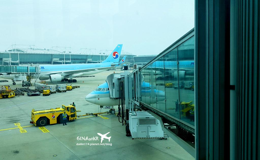 仁川機場-台北桃園機場 大韓航空KE693 ( Korea air / 대한항공 ) 波音737 2015.05搭乘記錄 @Gina Lin