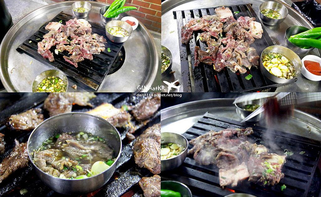 【新村美食】站著吃烤肉|60年傳統人氣名店|韓國街頭小吃包裝馬車+韓式雞蛋糕/ 紅豆魚餅+附交通方式 @GINA環球旅行生活