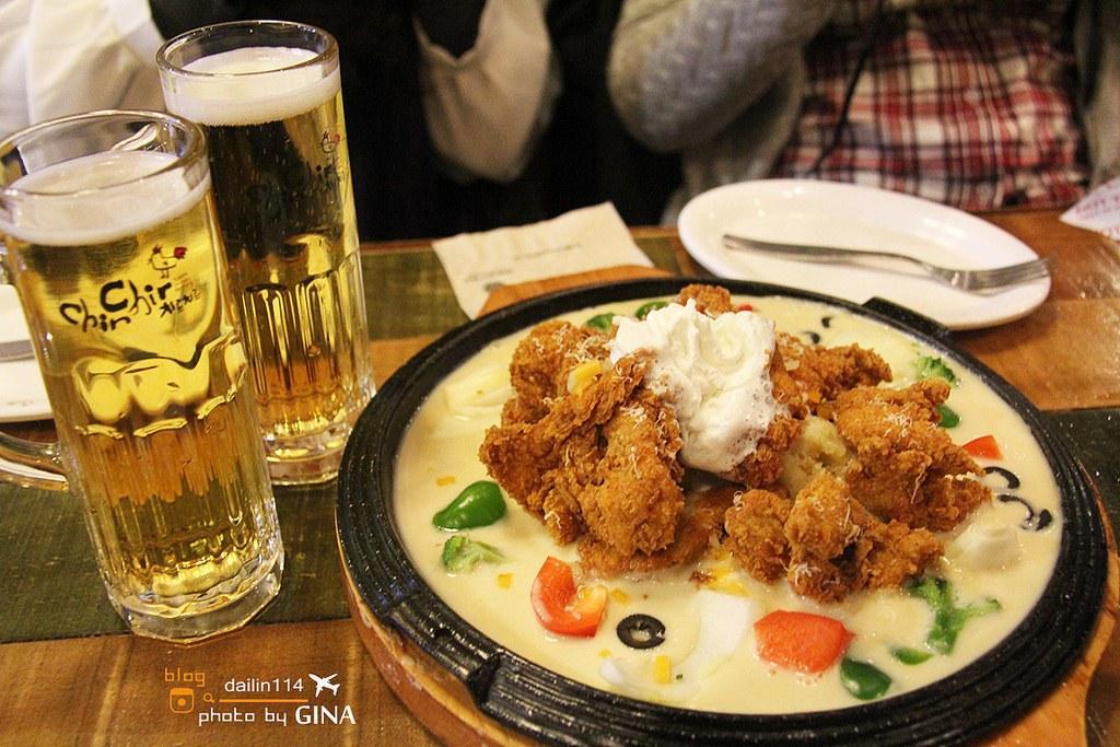 【韓國明洞必吃美食】ChirChir韓式炸雞|치르치르 치킨|奶油炸雞好好吃! @GINA環球旅行生活|不會韓文也可以去韓國