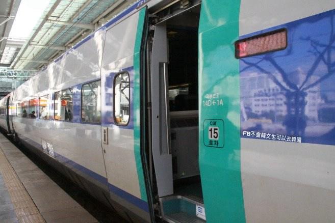 全韓國鐵路交通》KTX高速鐵路(高鐵) 火車 無窮花號(무궁화호) 釜山來回記 @Gina Lin