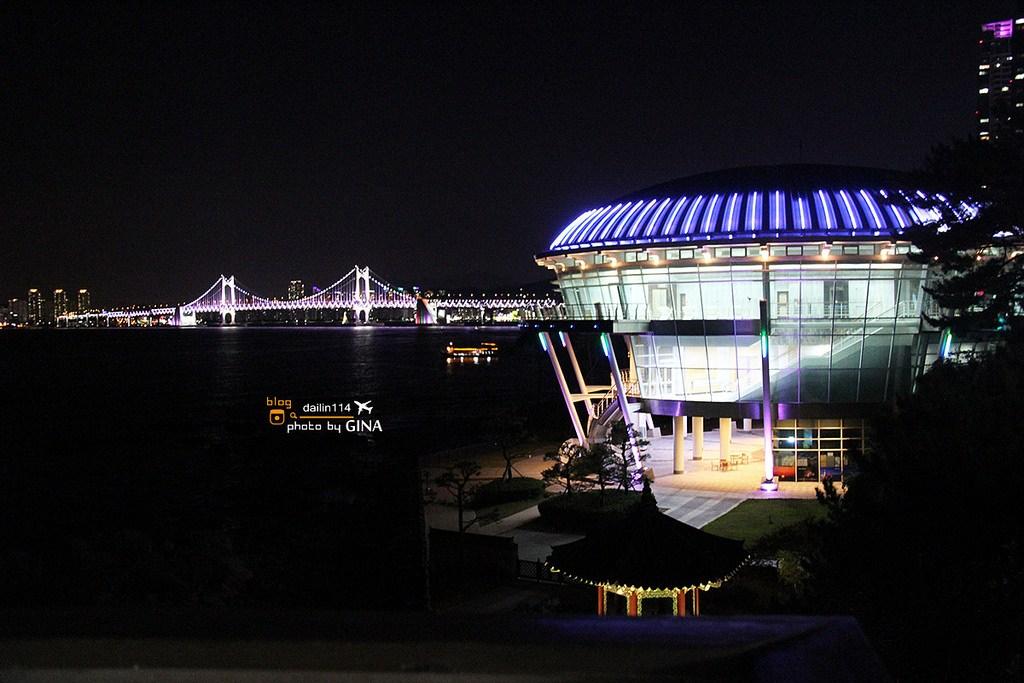 【釜山日夜景點】海雲台冬柏島|公園環海步道|APEC世峰樓|Nurimaru House (2005 APEC國際會議場所) @GINA環球旅行生活|不會韓文也可以去韓國 🇹🇼