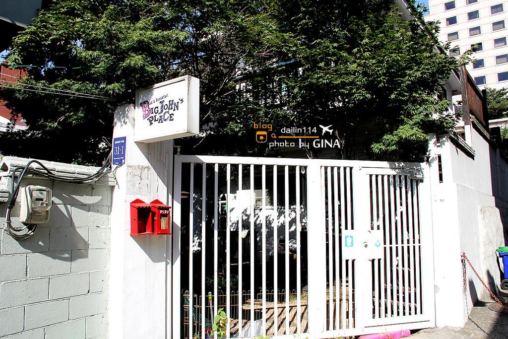 【江南背包客住宿】Big John's Place in Gangnam|近新輪峴站、江南站、江南地下街 @GINA環球旅行生活