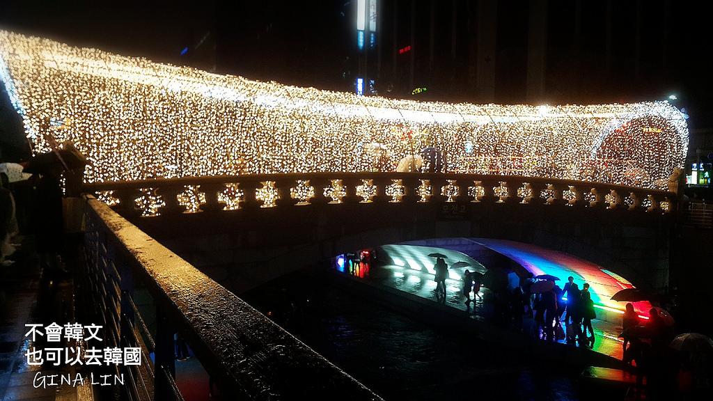 【首爾燈節】清溪川燈會|每年11月聖誕節點燈|近光化門廣場、景福宮、明洞、鍾路、鐘閣、教保文庫 附交通方式 @GINA環球旅行生活