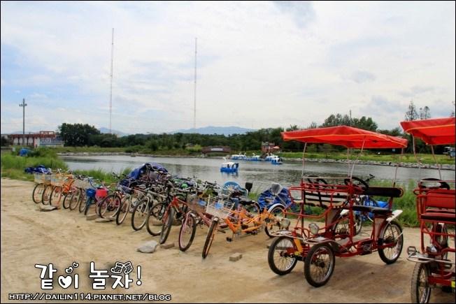【江原道景點】江陵鏡浦海水浴場|鏡浦湖|候鳥棲息地|濕地生態公園 @GINA LIN