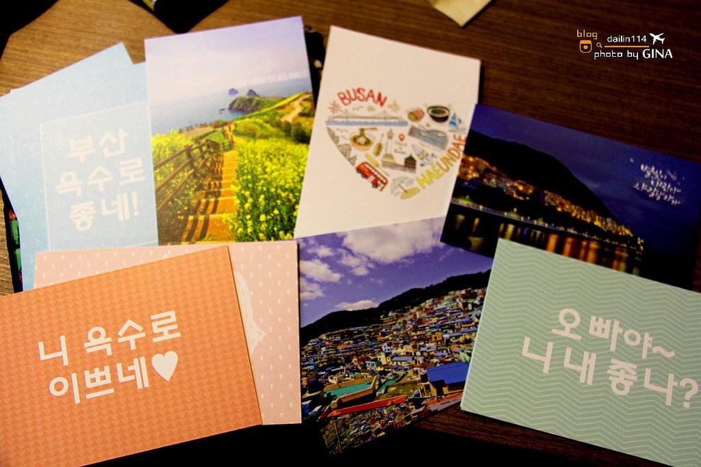 【釜山寄未來明信片】Check in Busan旅行咖啡廳|早午餐.南浦洞光復街 (近樂天百貨、龍頭山公園、釜山塔、國際市場、札嘎其市場) @GINA環球旅行生活
