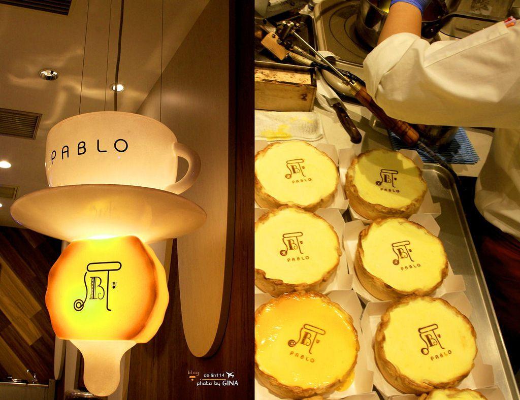 【大阪甜點、下午茶】日本人氣甜點|PABLO現烤半熟起司塔|大阪排隊也要吃!道頓堀分店 @GINA環球旅行生活