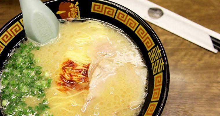 大阪自由行》日本一蘭拉麵 道頓堀店屋台館 一蘭ラーメン排隊也要吃! @Gina Lin