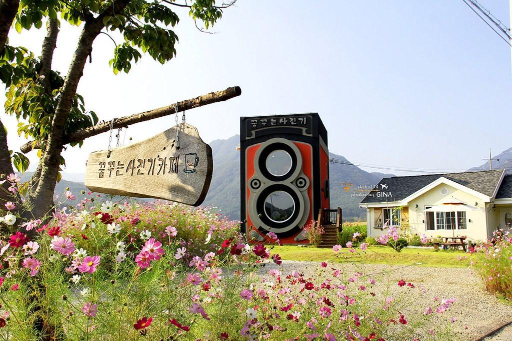 【京畿道景點】楊平特色咖啡廳|作夢的照相機|夢想照相機|尋夢照相機|首爾近郊(꿈꾸는사진기/Dreamy Camera Cafe)附交通方式一個人搭公車/計程車前往的方法 近龍門站 @GINA環球旅行生活|不會韓文也可以去韓國