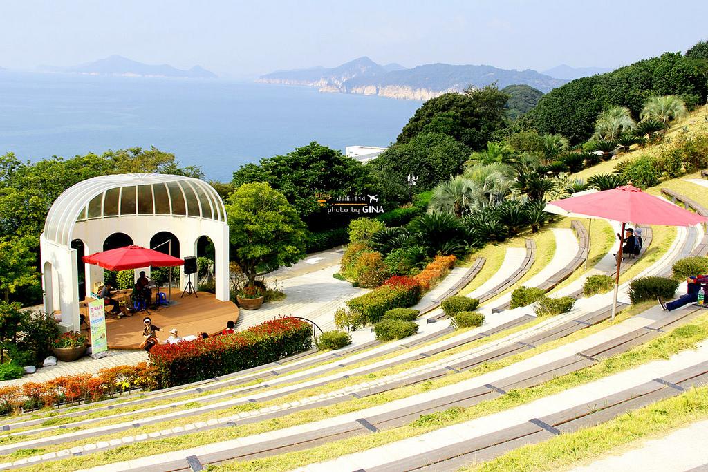 【慶尚南道統營】長蛇島海上公園|SBS韓綜Running Man、韓劇來自星星的你、溫暖的一句話..等外景拍攝場景(交通方式、行程規劃安排建議) @GINA旅行生活開箱