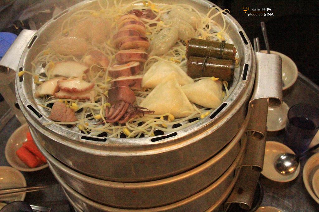 【首爾海鮮塔】奉天站海鮮九層塔(무한조개까까)食尚玩家22K出國去!首爾超值YO 浩角翔起外景餐廳之一 @GINA環球旅行生活|不會韓文也可以去韓國