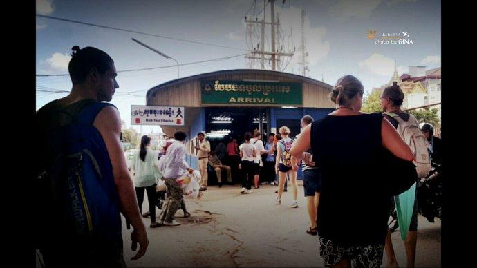 【柬埔寨自由行】超恐怖泰國到柬埔寨|暹粒吳哥窟市區交通方式|泰柬邊境落地簽|超恐怖加可惡泰國邊境|不被騙錢出入境解說 @GINA環球旅行生活