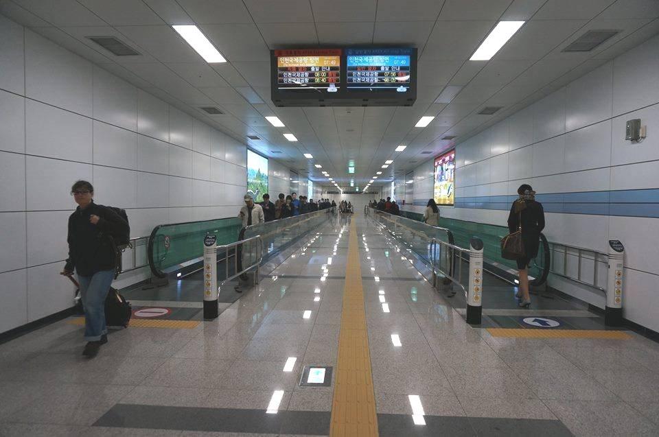 首爾站 Arex機場快線與地鐵1、4號線快速通道開通囉! @Gina環球旅行生活