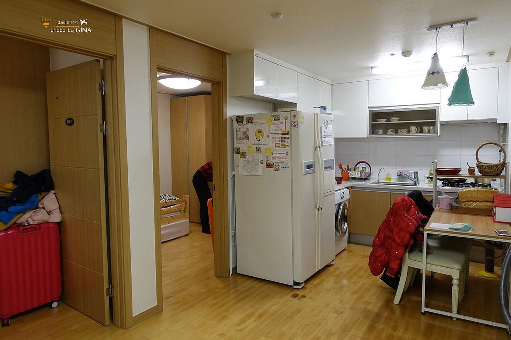 【首爾住宿】OKHouse (原Room in Korea )麻浦區廳站|家庭式住宿|適合學生旅遊省錢住宿 @GINA環球旅行生活