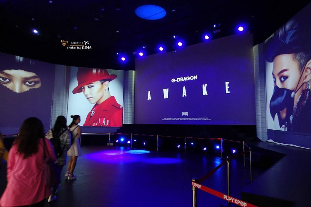 【濟州島Play K-POP博物館】YG藝人全息影像演唱會 G-Dragon場 (GD場Show AWAKE) 韓流迷不可錯過 西歸浦中文觀光園區 / 플레이케이팝 @GINA環球旅行生活