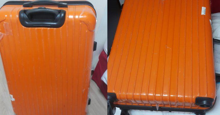 在機場行李被摔斷壞怎麼辦?仁川、桃園機場被摔斷腳行李解決辦法 台灣、韓國首爾修行李經驗 @Gina Lin