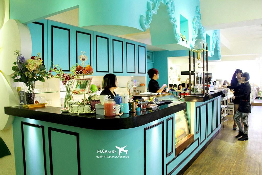 【台北萬華區美食】西門町焗烤下午茶咖啡|Oyami Cafe 華麗風格|焗烤飯、義大利麵|下午茶鬆餅一次滿足 @GINA環球旅行生活|不會韓文也可以去韓國