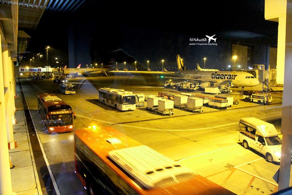 【曼谷廊曼機場攻略】台灣虎航|Tigerair 初體驗|台北桃園機場直飛泰國|機場大解析、落地簽、入境單 @GINA環球旅行生活|不會韓文也可以去韓國