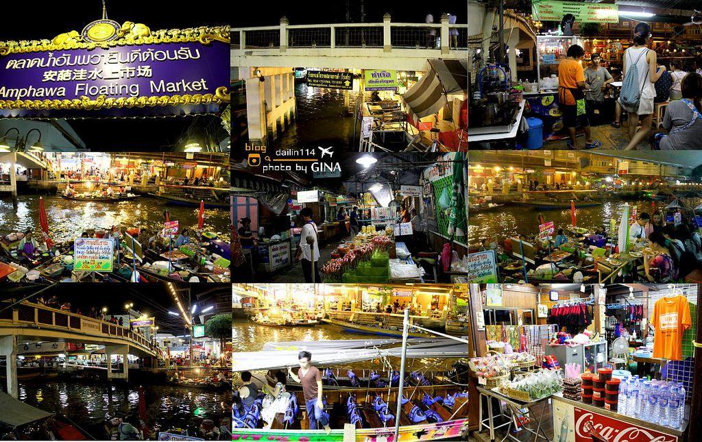 【曼谷自由行】安帕哇水上市場|從曼谷出發交通方式|泰國道地水上人家.河畔吃海鮮晚餐 @GINA環球旅行生活|不會韓文也可以去韓國