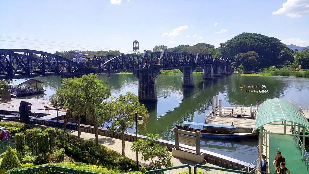泰國自由行》泰國西部 北碧府穿越歷史之路 泰緬鐵路 - 桂河大橋/死亡鐵路 @Gina環球旅行生活