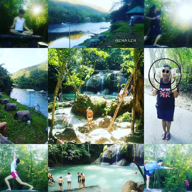 【泰國北碧人間仙境】伊拉旺國家公園-七層瀑布景觀|背包客的天堂 Erawan National Park|泰國露營趣|像韓綜《花樣青春》寮國取景地點 @GINA環球旅行生活|不會韓文也可以去韓國