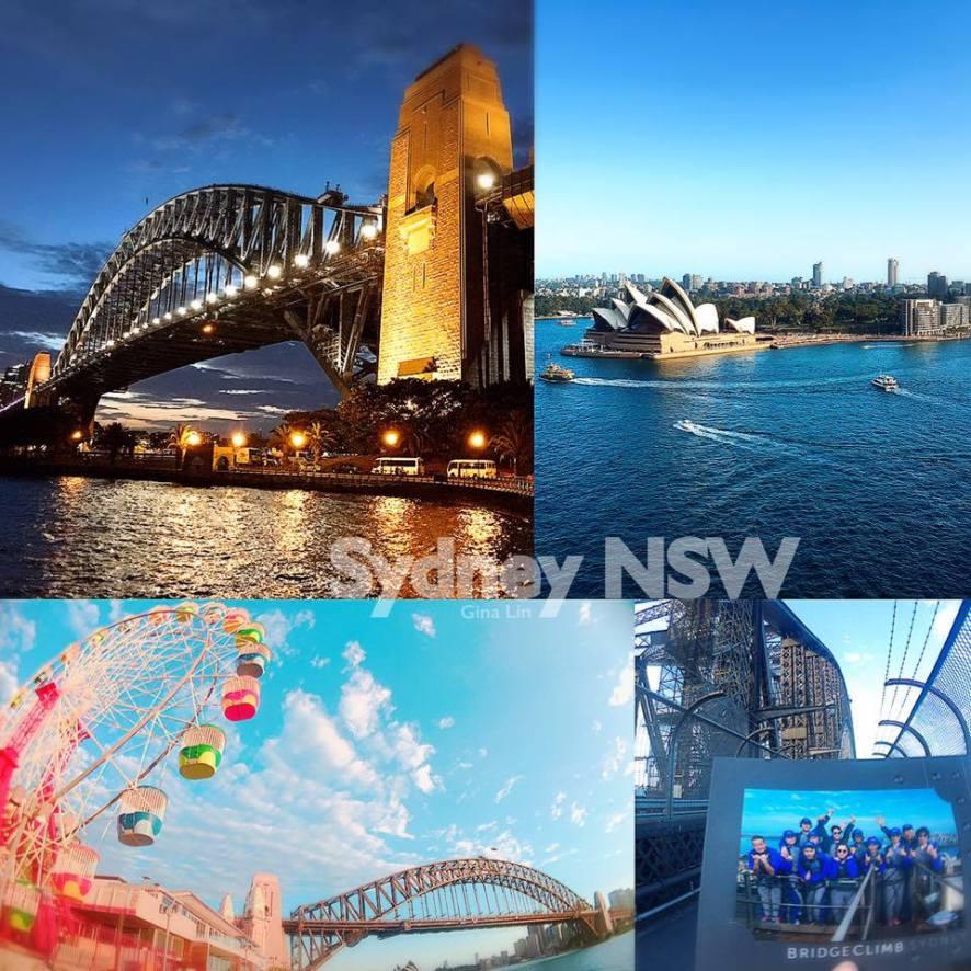 【2020攀爬雪梨大橋】悉尼港灣| Sydney Harbour Bridge|月光樂園(LunaPark)市區走到斷腿+港灣河畔白天夜晚都好美 @GINA環球旅行生活|不會韓文也可以去韓國
