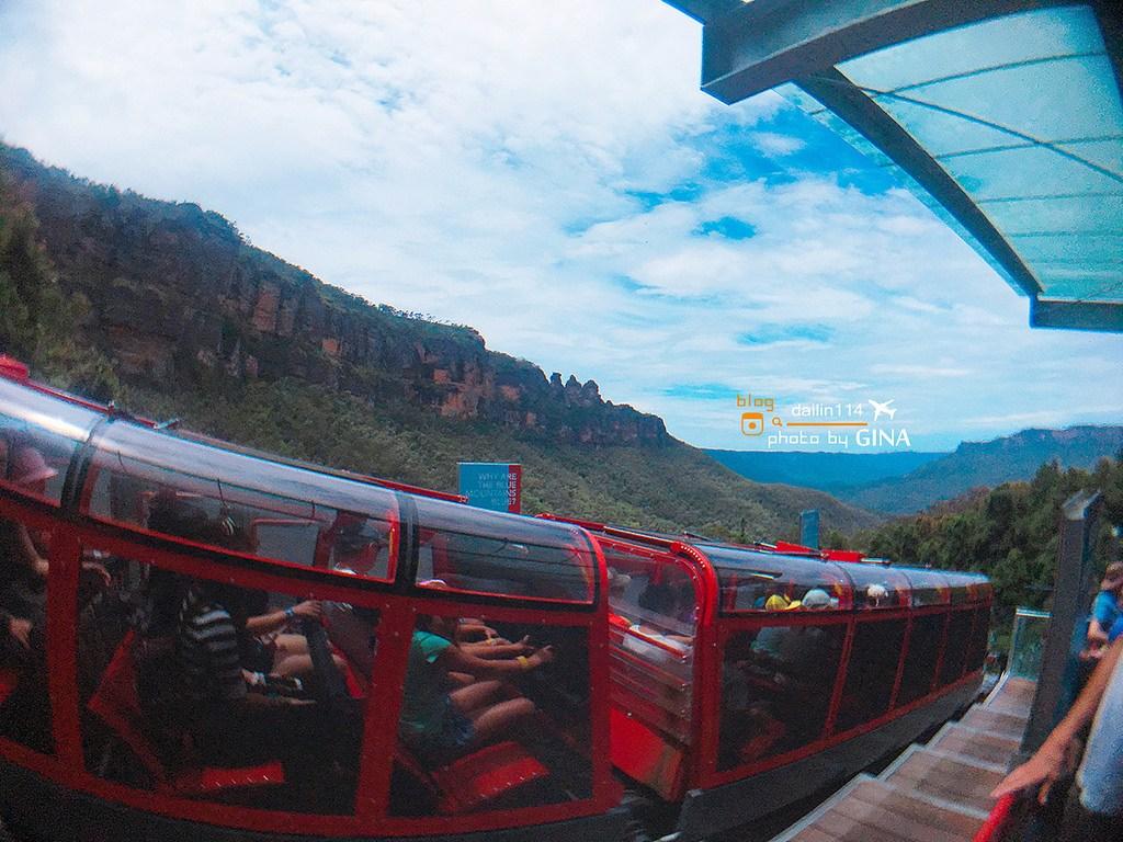 【澳洲必去景點】雪梨藍山一日遊(Blue Mountains)三姊妹峰|Leura小鎮喝早茶|景觀纜車|超陡景觀鐵道火車|超多汁牛肉三明治 @GINA環球旅行生活|不會韓文也可以去韓國