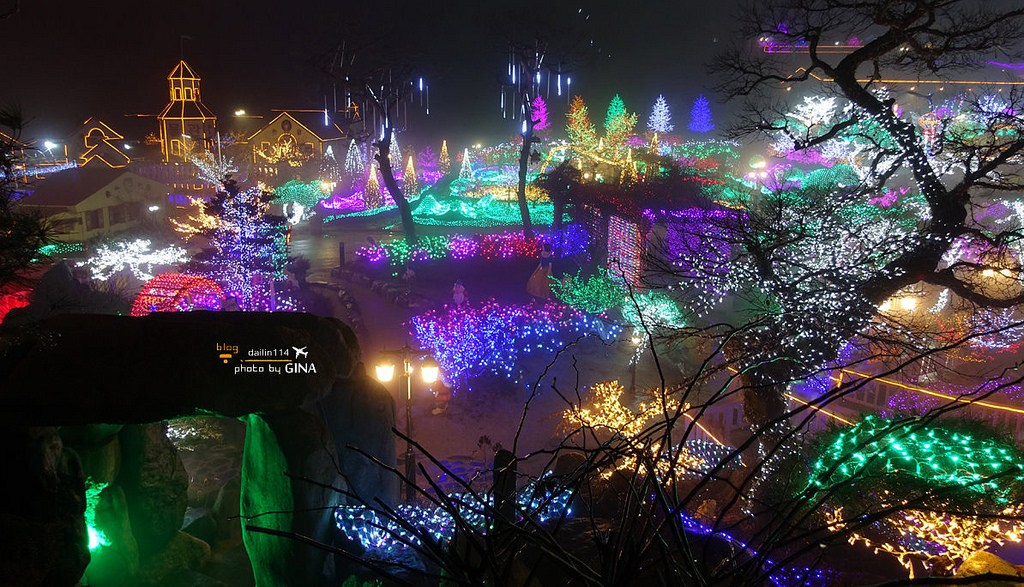 【京畿道景點】香草島樂園|夢幻超美夜景分享|首爾近郊|韓綜Running Man、韓劇Oh My Venus、海德哲基爾與我、製作人拍攝景點(附交通方式) @GINA環球旅行生活