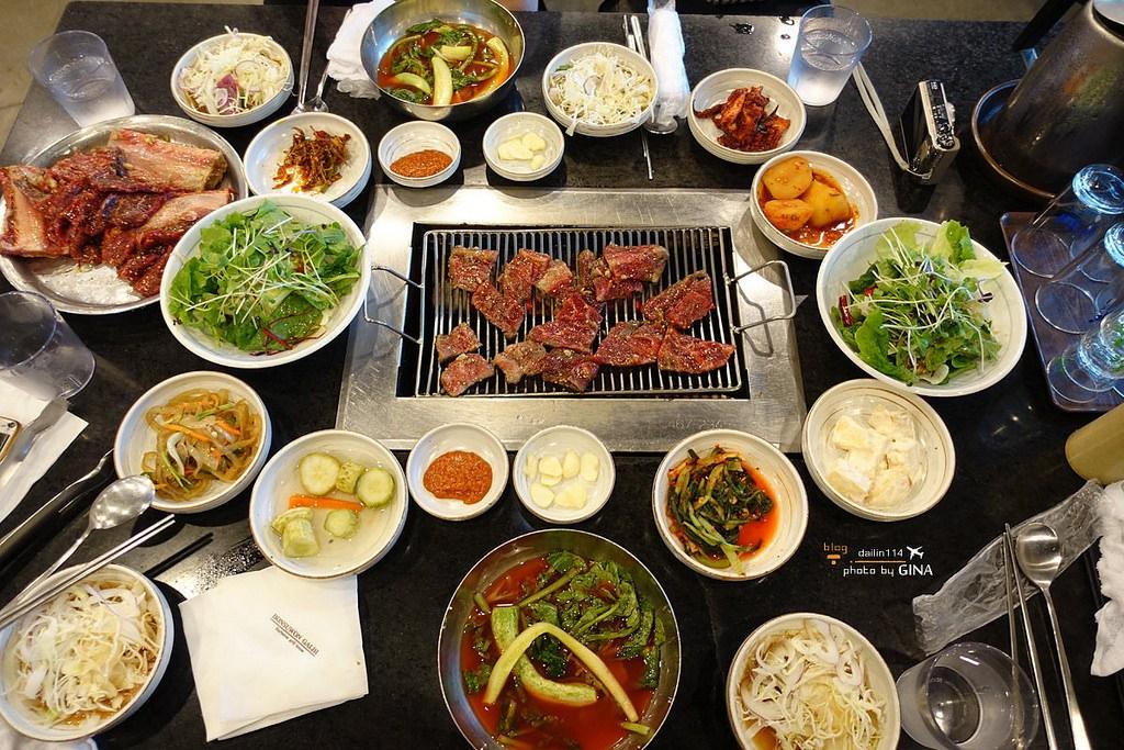 【京畿道美食】水原人氣名店|本水原排骨(본수원갈비)來就是要吃這味|附地圖、公車交通方式、菜單 @GINA環球旅行生活|不會韓文也可以去韓國