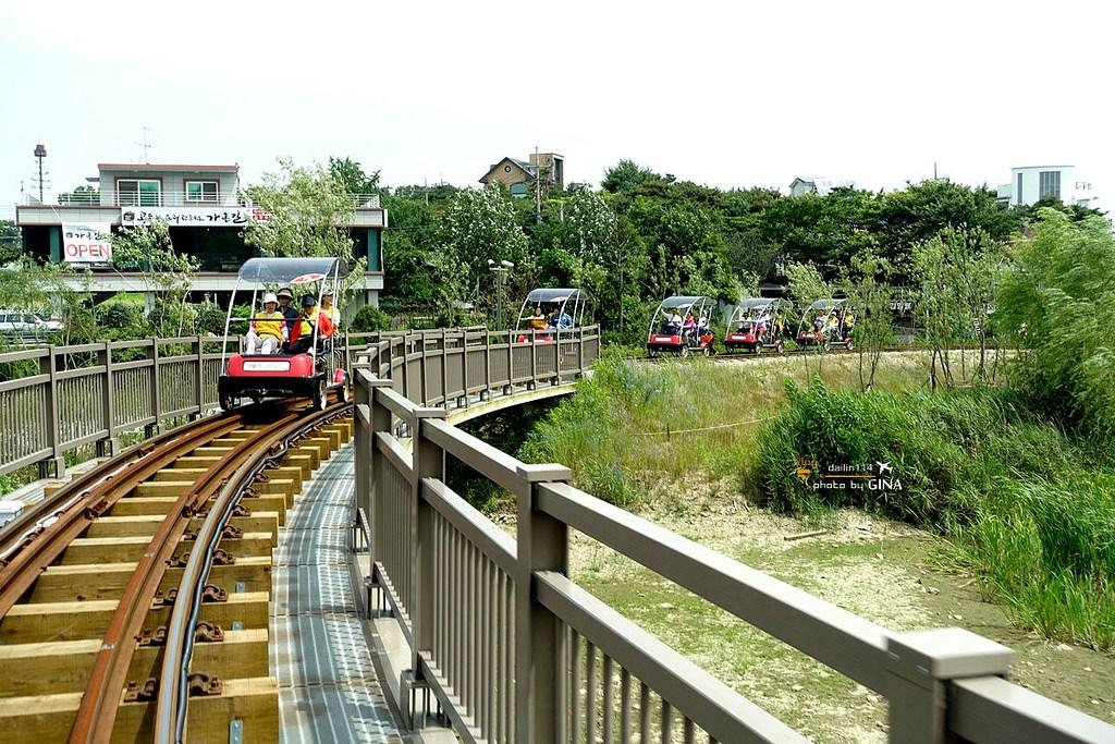 【京畿道景點】義王自行車鐵道|首爾近郊|附超簡單交通方式+免費接駁車圖文解說 @GINA環球旅行生活|不會韓文也可以去韓國