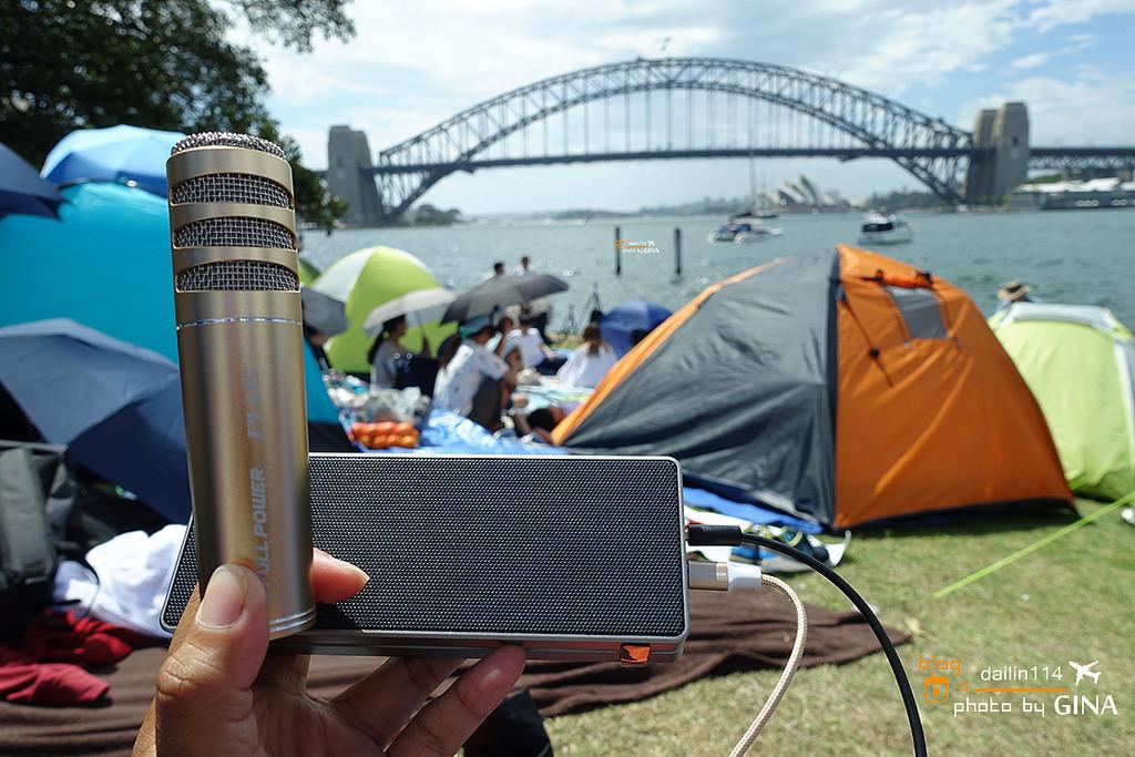【idol K8 PLUS】個人行動、隨身KTV包廂套裝|無時無刻都可以盡情歡唱|雪梨大橋、藍點草地露營12小時跨年小記事 @GINA環球旅行生活