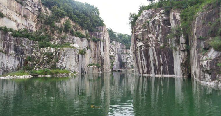 韓劇景點》首爾近郊 京畿道 抱川 Art Valley(포천아트밸리)韓劇《藍色大海的傳說》《步步驚心麗》《你能聽見我的心嗎》韓劇取景地點 @Gina Lin