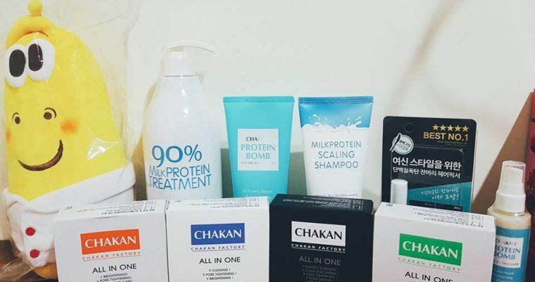 韓國女神Chakan Factory 洗髮精、護髮素不用去韓國搬貨囉~(Gina讀者回購率超高大固定團購) @Gina Lin