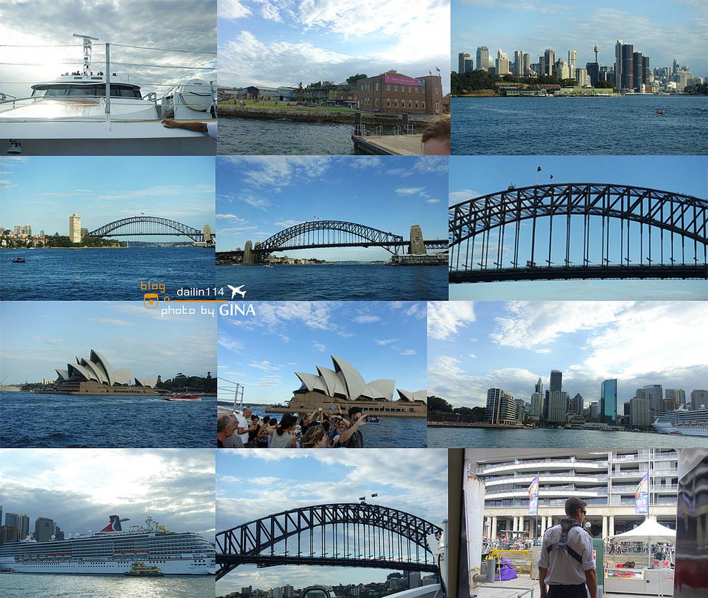 【雪梨景點】Parramatta 遊船|River Cruise|行經雪梨歌劇院、大橋一覽河畔美景、悉尼一日團 @GINA環球旅行生活