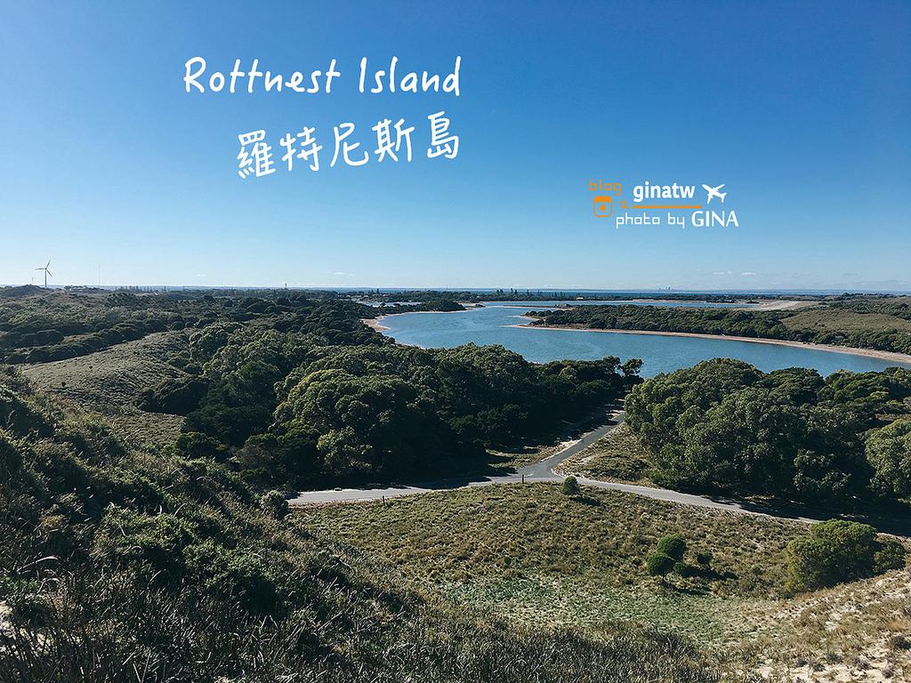 【西澳伯斯必去景點】澳洲羅特尼斯島一日遊(ROTTNEST ISLAND)短尾矮袋鼠|偶見粉紅蝴(Pink Lake)Hillarys Boat Harbour碼頭搭船出發! @GINA環球旅行生活|不會韓文也可以去韓國 🇹🇼